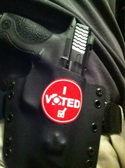 voted (Eric Holmes) Tags: kids training utah election goa second guns safe vote libertarian selfdefense obama nra 2012 2a 9mm firearm firearms clinging amendment mp9 clinger nationalrifleassociation molonlabe