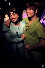 Peter Pan and Wendy Darling (Visions Fantastic) Tags: disneyland peterpan disney neverland wendydarling facecharacter