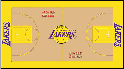 Lakers Court Concept