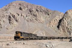 Bajando de los Andes (Guillermo Andre) Tags: chile rio private los gm desert trains cooper andes desierto railways salado ferrocarriles chilenos llanta potrerillos codelco of ferronor gr12u