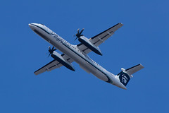 Alaska Airlines (Horizon Air) Bombardier Dash-8 Q400 N419QX (jbp274) Tags: airport horizon airplanes lax dash8 qx bombardier q400 klax dhc8 horizonair