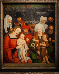 Holy Family, 1520 - Bernhard Strigel, Kunsthistorisches Museum, Vienna, Austria (Matilda Diamant) Tags: vienna wien old family portrait museum painting austria fine arts culture master german artists painter historical northern renaissance cultural bernhard austrian kunsthistorisches swabian rusalka memmingen 1461 1528 strigel