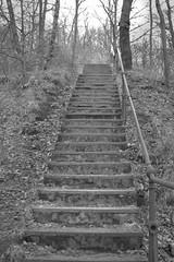 Staircase (Bjrn Jderland) Tags: old stone stairs outside iron stair sweden staircase bannister husqvarna huskvarna pustaleden