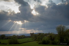 IHP_Raglan_Castle0414-4340 (IHphoto) Tags: uk castle southwales wales clouds scenic newport brooding gbr
