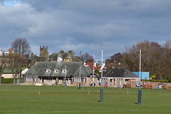 Newfield Recreation Ground Pavilion, Edinburgh (David_Leicafan) Tags: field sport edinburgh rugby cricket pavilion recreation newfield accies 90mmelmaritm edinburghaccies