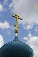 69. Paschal Prayer Service in Svyatogorsk / Пасхальный молебен в соборном храме г. Святогорска