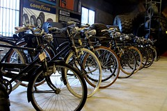 Bicyles ~ the early days (Prayitno / Thank you for (10 millions +) views) Tags: museum indonesia java transport indoor east bicycles jawa batu timur transporation sepeda konomark museumangkut