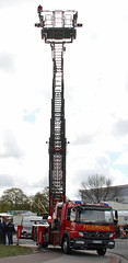 Atego ladder truck (Schwanzus_Longus) Tags: new modern truck germany fire mercedes benz aerial german vehicle ladder feuerwehr department brigade 1529 atego delmenhorst