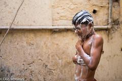 _DEW5881.jpg (DonatoW) Tags: boy india soap varanasi wrestler bathing banaras lather 2016 kushti donwheatley