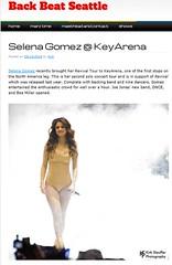 Selena Gomez @ KeyArena (Kirk Stauffer) Tags: selena gomez