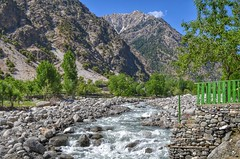 The River Flowing Through Bumburet Valley (Emaad Paracha) Tags: festival fort top pass mosque valley mir dir kalash shahi mardan chitral malakand lowaripass lowari terich bumburet lowaritop timergara chilimjusht