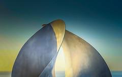 Intersection (Martin Snicer Photography) Tags: sculpture colour art 50mm curves intersection sculpturebythesea 6d sculpturebythesea2015