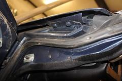 door aperture detail (Pim Stouten) Tags: auto car restore vehicle jag restoration xjs jaguar macchina coup restauratie wagen pkw vhicule