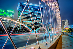 all we do (Sky Noir) Tags: city bridge night long exposure texas fort tx ft worth dfw fortworth
