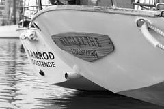 In the Dock (Kurt Braeckmans) Tags: blackandwhite bw white black water sailboat blackwhite ship outdoor 100v10f oostende f4 voor anker 2470 2470f4 eventoutdoor 2016maritime