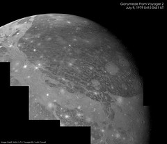 Ganymede - Voyager 2 (jccwrt) Tags: moon space jupiter flyby ganymede voyager2