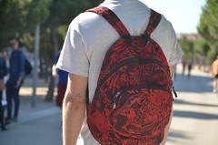 gamer (mcknbrd) Tags: madrid park parque urban espaa naturaleza verde youth spain smoke young skate backpack skater shameless legazpi skaterboy madridro lipgallagher