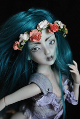 (funkysweet) Tags: dark tales dolls maydeleine msd bjd pink tan grey artist cast faceplate sweet