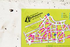 Map of Glockenbachfest (Gulius Caesar) Tags: canon munich eos rebel market map flea glockenbach t2i glockenbachfest