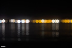 seafront (_esse_) Tags: blur lights seaside silence seafront lungomare notte