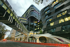 Under Construction (Pat Charles) Tags: road street city urban building architecture modern hospital construction nikon flickr cancer australia melbourne victoria explore health research care facility 1001nights sick treatment patients unwell oncology hematology oncologist haematology explored haematologist hematologist 1001nightsmagiccity