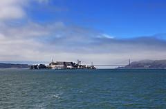 Alcatraz Island (skipmoore) Tags: island goldengatebridge alcatraz sanfranciscobay marinestratus