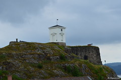 Halden Fort (Bo Ragnarsson) Tags: norway harbor norge cloudy fort rainy fortress festning halden hamn fstning fredriksten