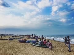 The sky | The beach | The sea (Mahrshi bisani) Tags: travel sea india beach bluesky wanderlust iphone landscapephotography mobilephotography iphoneonly 6splus