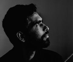 Rohit (Sybren A. Stvel) Tags: portrait blackandwhite man male film blackwhite model zwartwit kodak hasselblad analogue portret rohit trix400 hasselblad500cm kodaktrix400 kodak400tx rohitdubey hasselblad1504