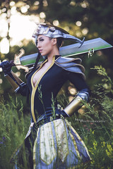 Master Yi (Ngo_Photography) Tags: sunset game golden pc cosplay lol master gaming hour legends league yi colossalcon