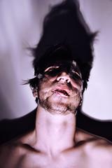 ghost of a gladiator (O'Cinapitch) Tags: boy portrait color neck pain nikon shadows skin scotch sh aesthetic aeste
