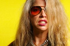Marynell Hardin (Studio d'Xavier) Tags: portrait yellow rockroll strobist marynellhardin