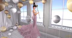 (CW) Chiara Couture Gown (: Haute Monde Agency) Tags: newyork art beauty fashion landscape photography town model flickr princess kodak modeling puertorico digitalart queen fantasy secondlife latinoamerica 6d zurirayna anaelah