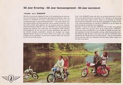 ZUNDAPP Bromfiets Dealer Brochure Model Super Combinette De Luxe, KS 50 Sport en KS 100 (Holland 1965)_2 (MarkAmsterdam) Tags: england bike shop tricycle engeland fiets bycicle manufacturer cycly fietsenmaker fietsenfabrikant
