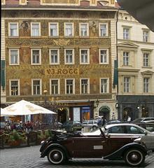 V J Rott Building Prague (donachadhu) Tags: czechrepublic prague oldtown square vjrott frescoe mikolasales