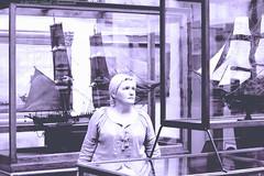 Portrait (Natali Antonovich) Tags: brussels portrait monochrome museum belgium belgique belgie lifestyle stare spectator sweetbrussels