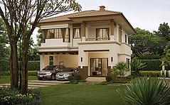บ้านเดี่ยว บุราสิริ ราชพฤกษ์-แจ้งวัฒนะ แบบบ้าน บุรากานดา