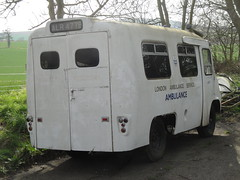 1964 Morris Ambulance (GoldScotland71) Tags: ambulance vehicle 1960s morris emergency bmc 1964 alr477b