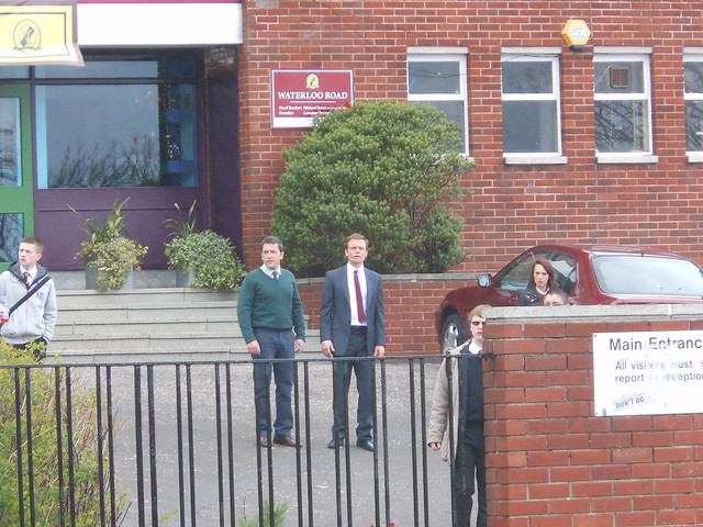 Waterloo Road 5/4/12 - Jason Done and ALEC Newman