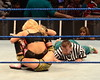 Natalya, AJ, Hornswoggle WWE Smack Down at the O2 Arena Dublin, Ireland