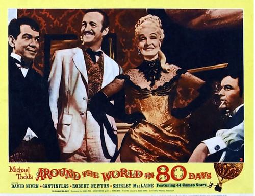 1956 Blockbuster Movie Around The World In 80 Days