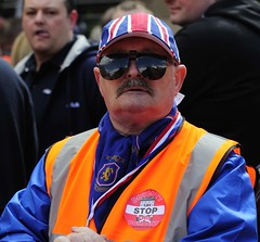 RFU 8 (Redhand1873) Tags: blue red white scotland glasgow protest queenspark trust rangers hampden supporters sanctions rfu andblackfootball