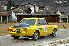 LANCIA  FULVIA  year 1974 (marvin 345) Tags: auto old italy classic cars car vintage automobile italia rally voiture historic oldtimer fulvia trentino lancia vecchio epoca storico vecchia vecchie storiche mezzano primiero lanciafulvia worldcars snowtrophy