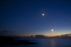 Venus & Moon Make way for Aurora (Donegal Skies) Tags: earthandspace Astrometrydotnet:status=solved Astrometrydotnet:version=14400 brendanalexander competition:astrophoto=2012 Astrometrydotnet:id=alpha20120678345763 donegalirelandlocationdonegalireland