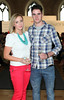 Emma Coyne & Colin O'Meara pictured at the ebay.ie fashion show at Smock Alley Theatre, part of the ebay.ie online fashion week. Photo: Anthony Woods.