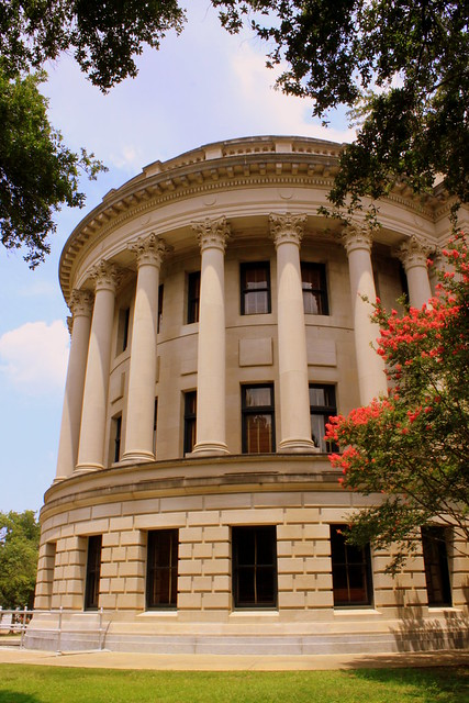 Mississippi State Capitol Side Columns