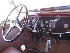 1930 Pierce Arrow B Roadster (DBerry2006) Tags: antiquecar dashboard concours steeringwheel concoursdelegance piercearrow 1920scars marinsonomaconcours