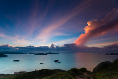 (dawvon) Tags: world china longexposure travel sky hk cloud nature night sunrise trekking dark stars landscape ed hongkong twilight nikon asia nightshot zoom cloudy hiking gear wideangle equipment nikkor  f4 vr afs newterritories lenses clearwaterbay saikung zoomlens stargazing f4g photographyequipment 1635mm   fmount vibrationreduction vr2 vrii starrysky portshelter photographygear wideanglezoom   nanocrystalcoat  taiaumun afsnikkor1635mmf4gedvr 1635mmf4gvr  clearwaterbaypeninsula tailengtung