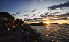 Balaton Sound festival 2012 (bazs_eos) Tags: sunset beach festival hungary 60d balatonsound