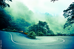 Morning Mist (ajayjoyson) Tags: road india mist nature beautiful canon nikon silent south twist kerala valley hairpin attapadi